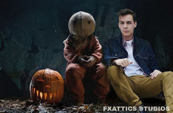 "San And Quinn Lord From ""Trick 'R Treat"""