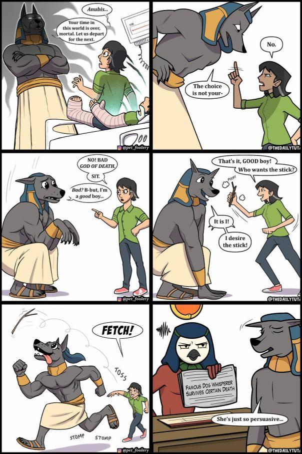 Comics Artist Creates Humorous Comics About Egypt (137 Pics)