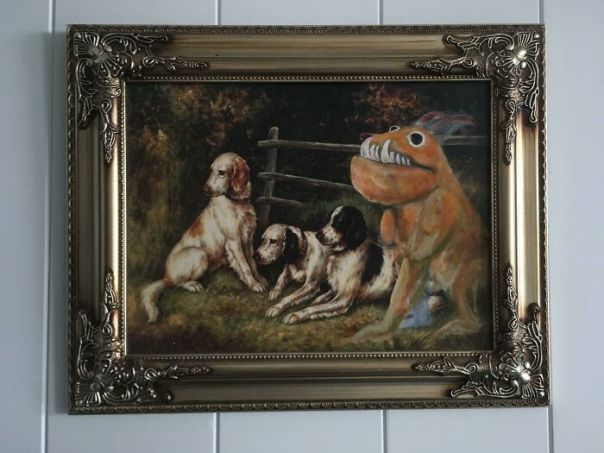 Found This Gem A Thrift Store. Not Sure Where It Came From But It's One Of My Favorite Paintings