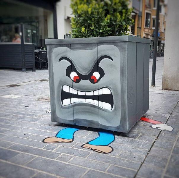 Mario Is Dead Baby, Mario Is Dead for @thcrstlshp In Ostend #mario #mariokart #mariobros #nintendo #videogame # Oakoak #ostend #thecrystalship #streetart #urban #funny #fun #dead #game #art