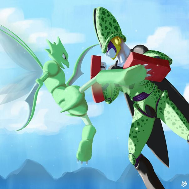 Cell And Scyther