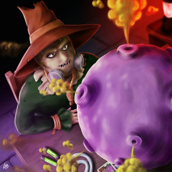 Scarecrow And Koffing