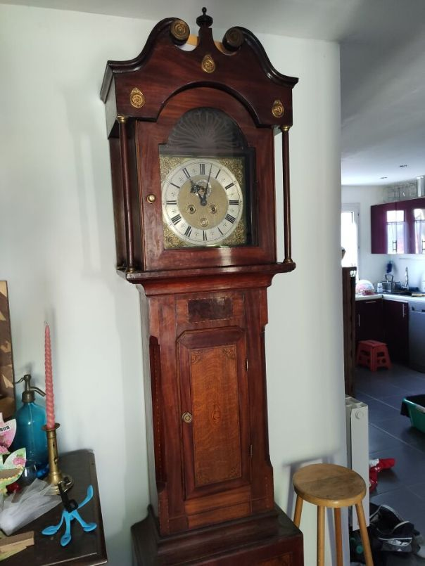 Grandfather Clock From 1680s