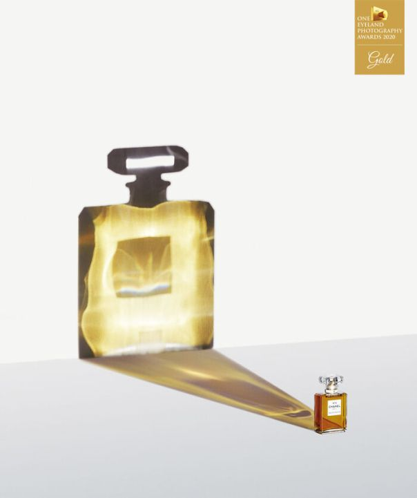 Chanel Parfum By Cheuk Lun Lo. Gold In Advertising