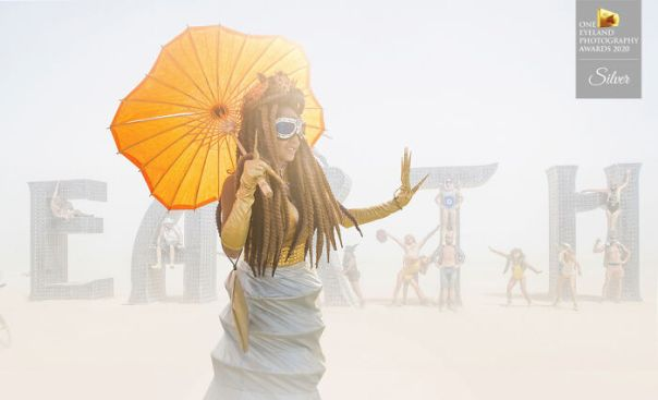 Burning Man By Derek Mccoy. Silver In Editorial