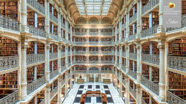 Libraries - Inspiration In Past And Present By Mario Basner Silver In Architecture