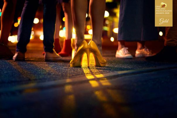 Mac Your Night – Heels By Danny Eastwood. Gold In Advertising