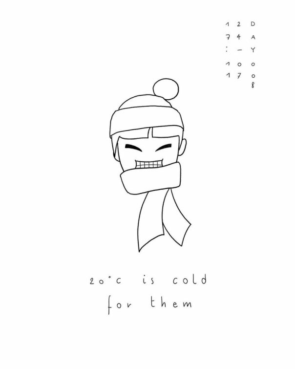 My 100 Days Of Taiwan _ drawing Challenge