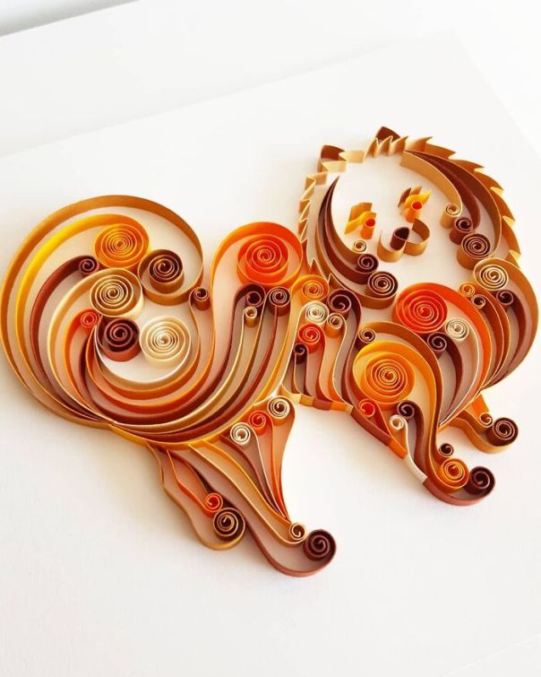 Quilling Paper Art By Paperliciousbg