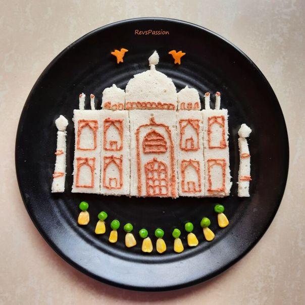 Taj Mahal - One Of The Wonders Of The World