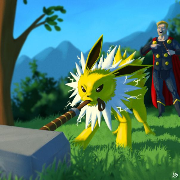 Thor And Jolteon