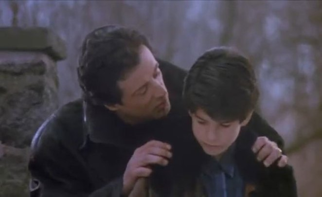 Sylvester Stallone Played In Rocky V (1990) With His Son Sage