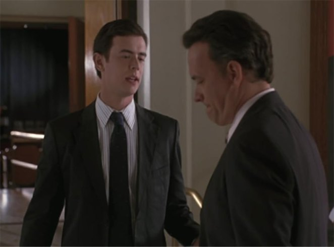 Tom Hanks And Colin Hanks Played Father And Son In The Great Buck Howard (2008)