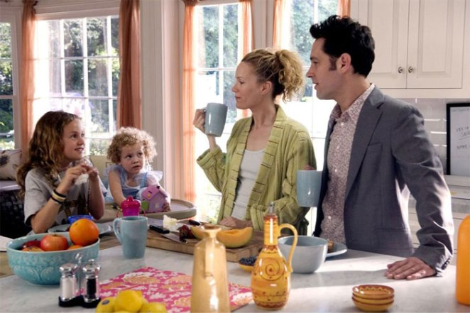 Leslie Mann And Her Daughters, Iris And Maude Apatow, Played Debbie And Her Children In Knocked Up (2007)