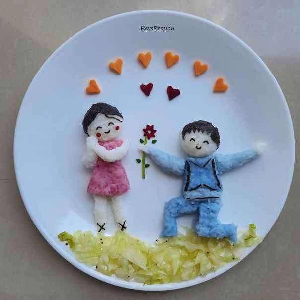 Valentine Day Love Between Boy And Girl