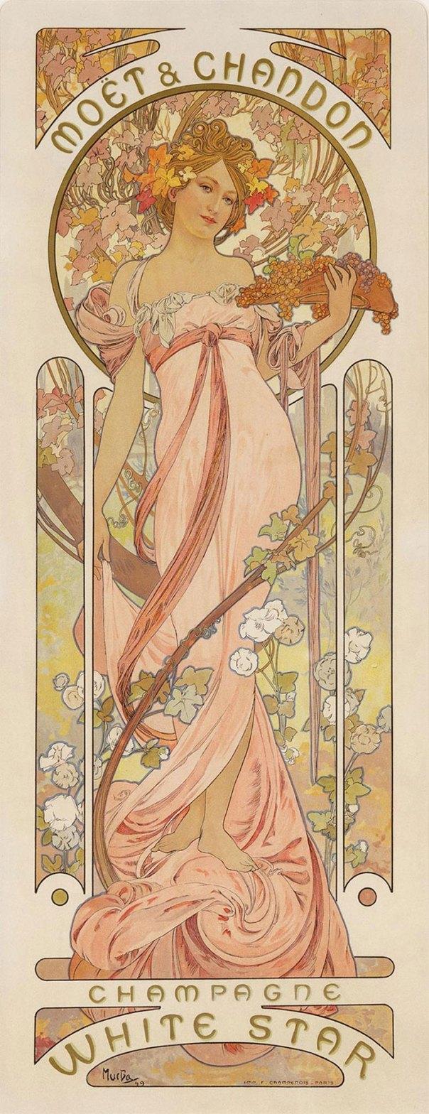 """If It Looks Like A Cottagecore Pinup Girl, Then Its Art Nouveau"""