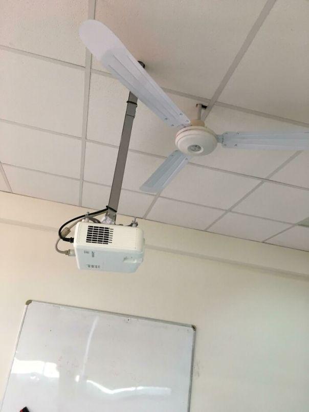 Not A Fan Of That Projector