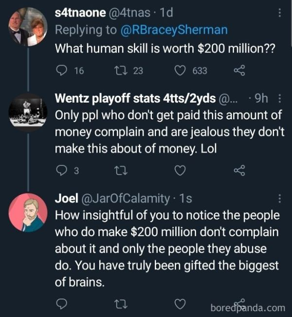Great Observation, People Who Make A Lot Of Money Don't See The Problem
