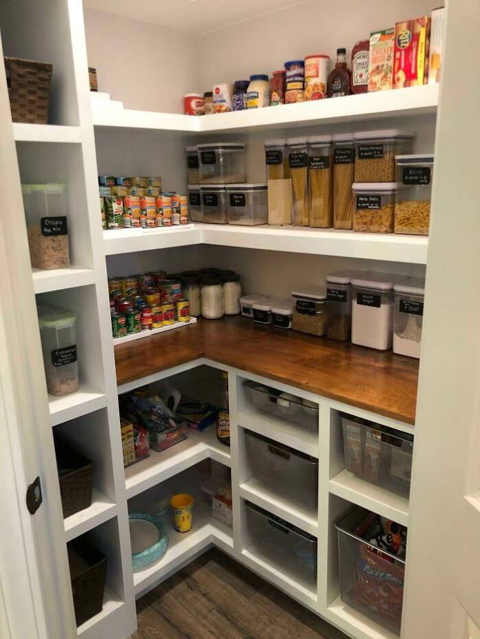 My Wife Wanted A Custom Pantry So I Built Her One