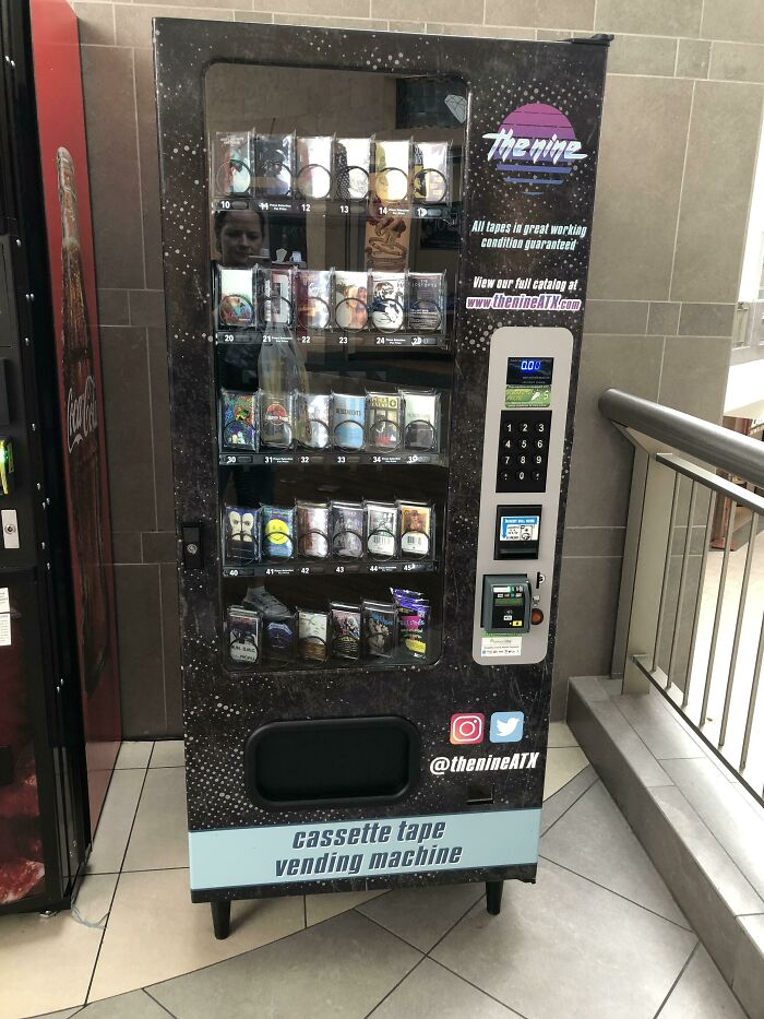 This At The Mall: Cassette Tape Vending Machine