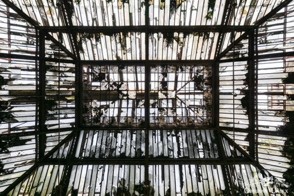 The Immense Skylight Is Still Standing Strong, A Testament To The Fine Steelwork This Company Produced