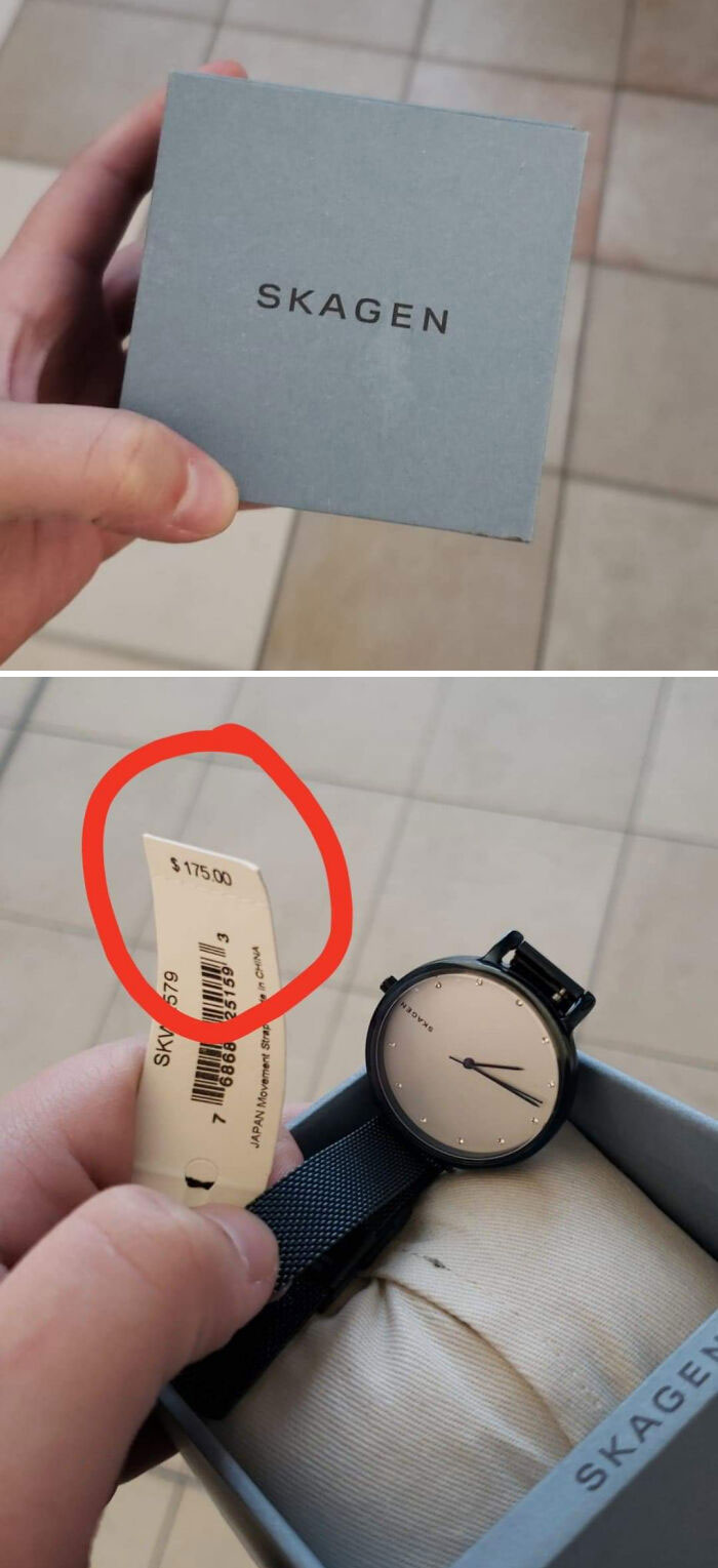 $175 Watch Was Damaged Out For Having A Broken Clasp. Took It To The Watch Repair Kiosk At The Mall And He Said It Wasn't Broken, They Just Didn't Know How To Work The Self Adjusting Clasp