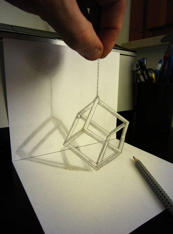 3d Pencil Drawings Alessandro Diddi Bored Panda