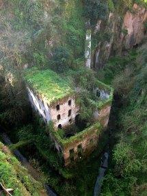 1866 Abandoned Mill Sorrento Italy