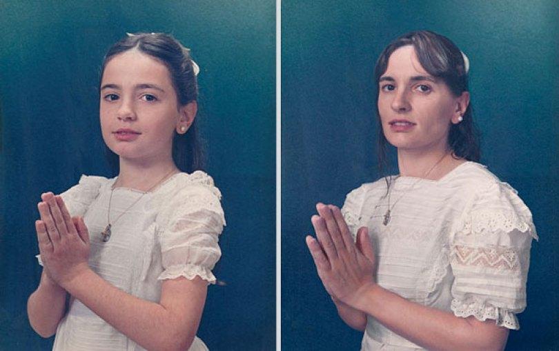 back to the future irina werning 19 - Fotógrafa Argentina recria foto antiga com a mesma pessoa anos depois - Parte 2