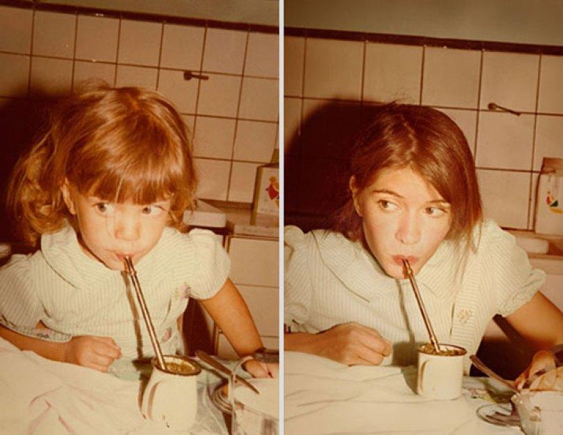 back to the future irina werning 22 - Fotógrafa Argentina recria foto antiga com a mesma pessoa anos depois - Parte 2