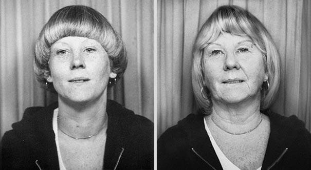 back to the future 15 - Fotógrafa Argentina recria foto antiga com a mesma pessoa anos depois