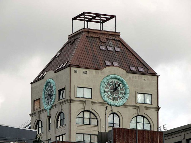 Old Clock Tower Transformed Into A On For 18