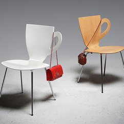 Chair Design With Handle White Padded Folding Chairs 20 Creative And Unusual Designs Bored Panda The Satisfies Both Elements Of Functional Decorative Seats Appears Like A Silhouette Coffee Mug Whose Can Be Used As
