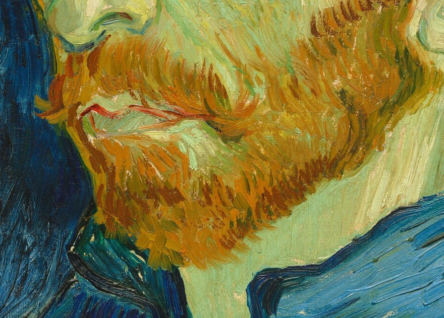 Incredible Close Ups Of Van Goghs Paintings From Google