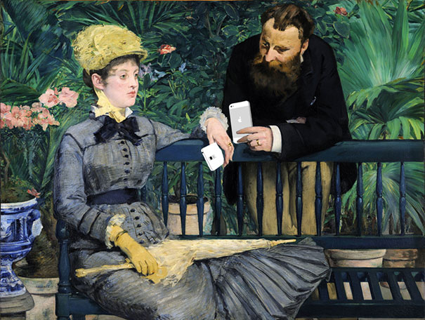 Famous Paintings Updated With 21st-Century Gadgets | ArtRubic