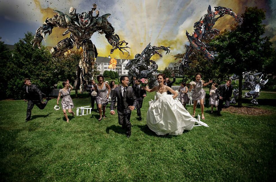 Wedding Attack! The New Trend For Your Wedding Photos