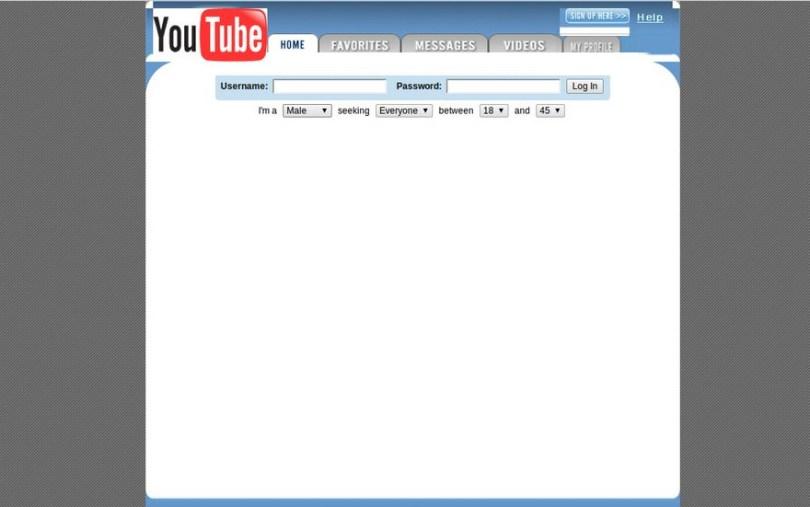worlds biggest sites at launch wayback machine 2 - Como era a página principal dos grandes sites em seu início?
