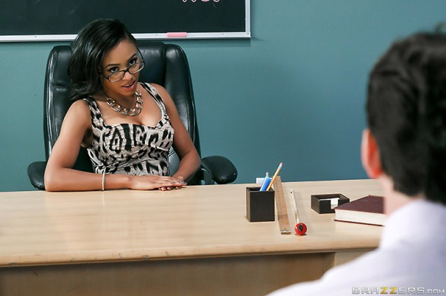 Anya Ivy - Brazzers - Big Tits At School - A Parent Teacher Meating