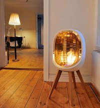 10 Portable Fireplaces for Petite Places | Brit + Co