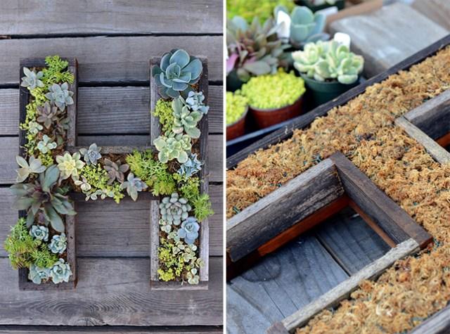 14 idee fai da te per creare bellissimi giardini verticali | guida ... - Portavasi Pensile Fai Da Te
