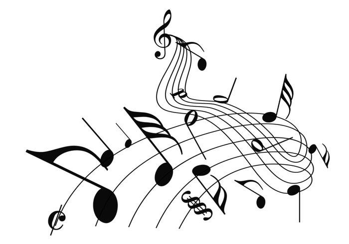 Free Musical Symbols Brush Set