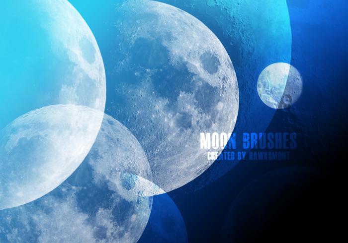 moon brushes free photoshop