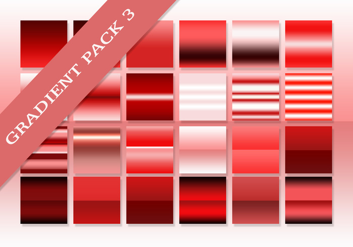 Free Red Ultimate Gradients Pack 3