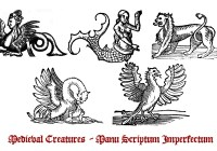 Free Medieval Creature Brushes