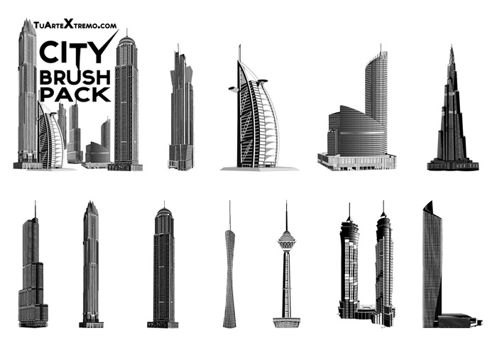 Free City Building Brushes