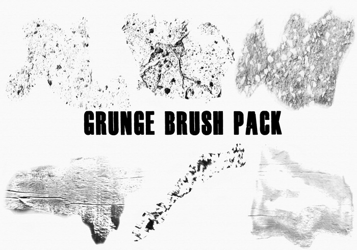 Free Grunge Brushes