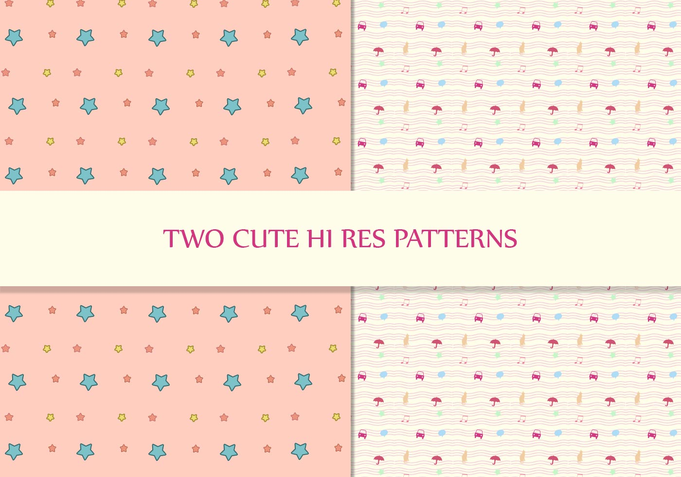 Baby Girl Pattern Wallpaper Cute Pattern Pack Free Photoshop Patterns At Brusheezy