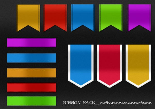 Ribbon Banner Psd - Year of Clean Water