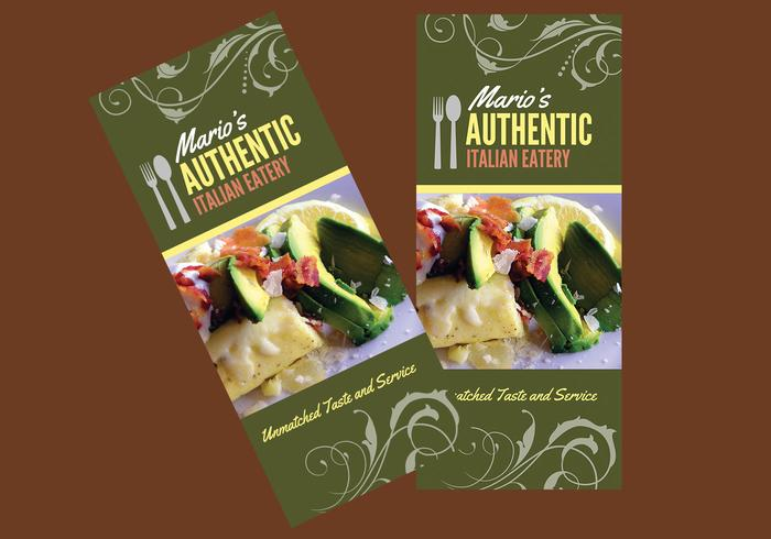 Restaurant Brochure PSD Template - Free Photoshop Brushes At