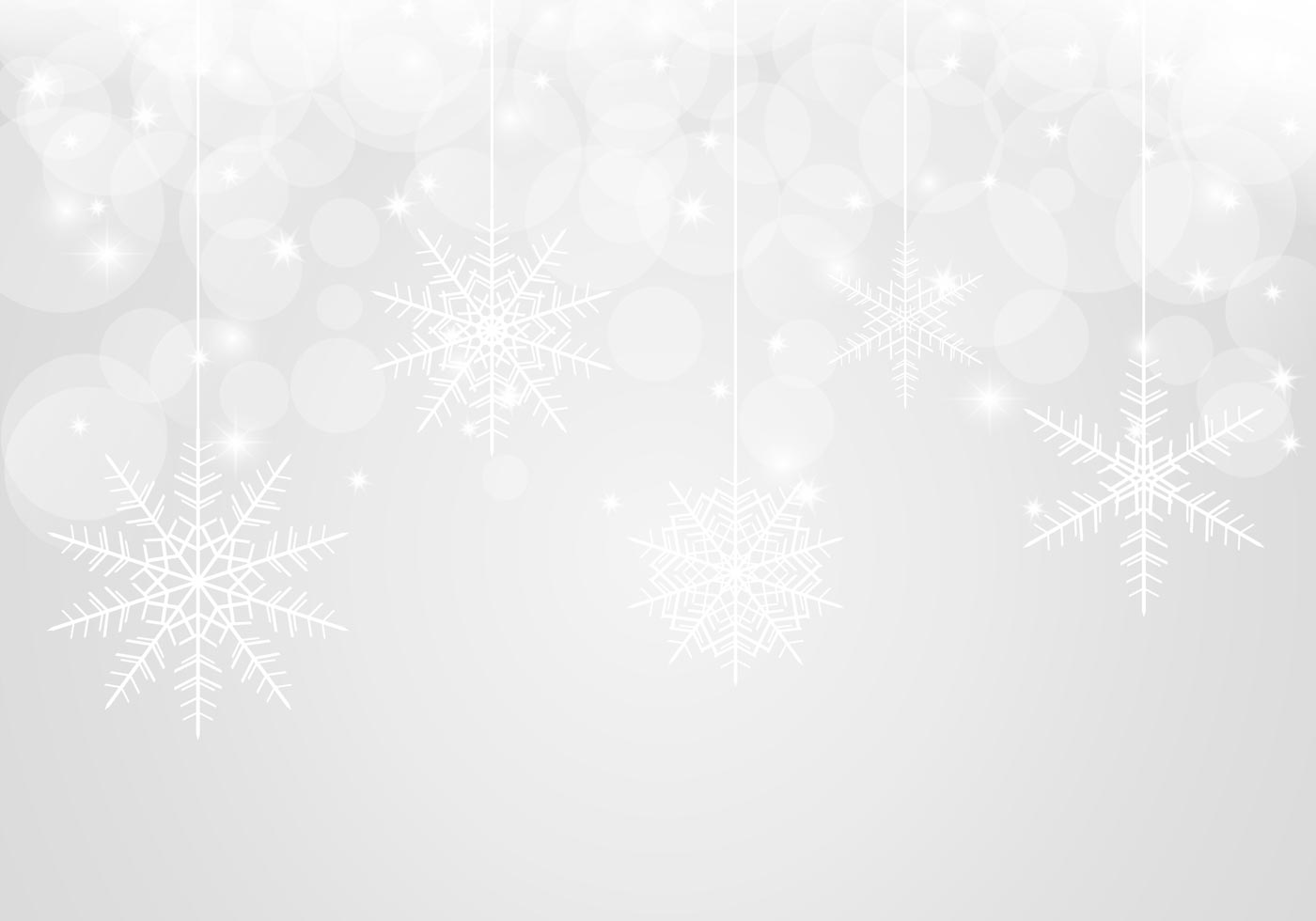 Bokeh Snowflake Background PSD Free Photoshop Brushes At